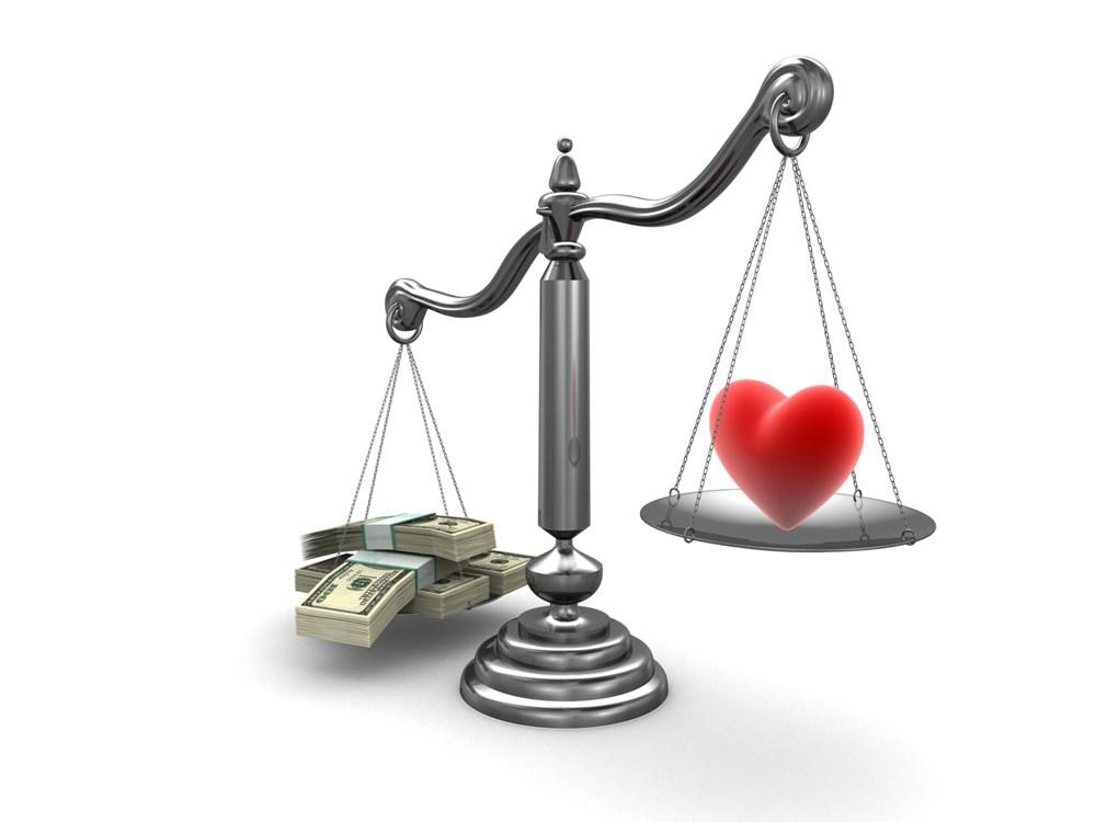 amour argent